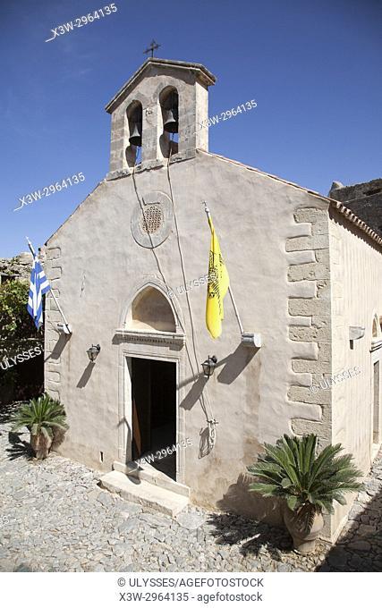 Kato Preveli Monastery, Crete island, Greece, Europe