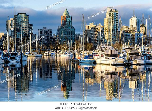 Marina, Coal Harbour, Vancouver, British Columbia, Canada