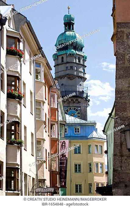 Historic town centre, Innsbruck, Tyrol, Austria, Europe