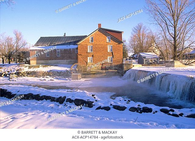 Cornell Mill, Stanbridge East, Eastern Townships, Quebec, Canada
