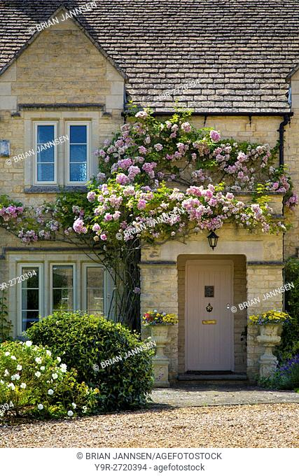 Cottage Home in Chipping-Campden, the Cotswolds, Gloucestershire, England