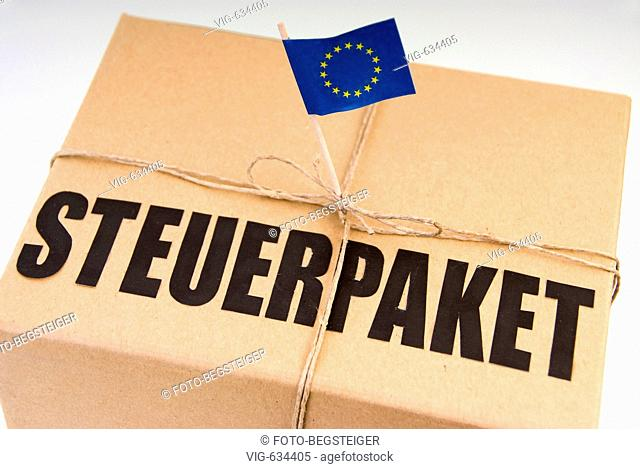 symbolic for fiscal packet in European Union. - 16/02/2008