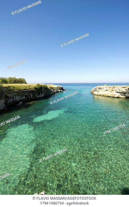 Coast near Otranto, Apulia
