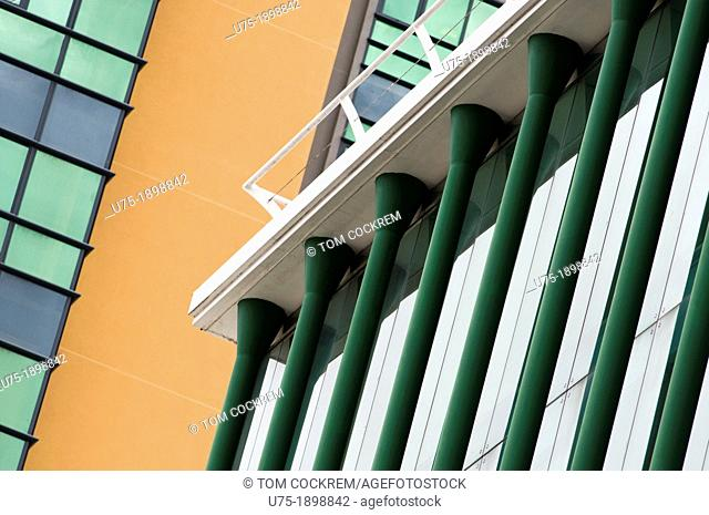 modern architecture, port louis, mauritius