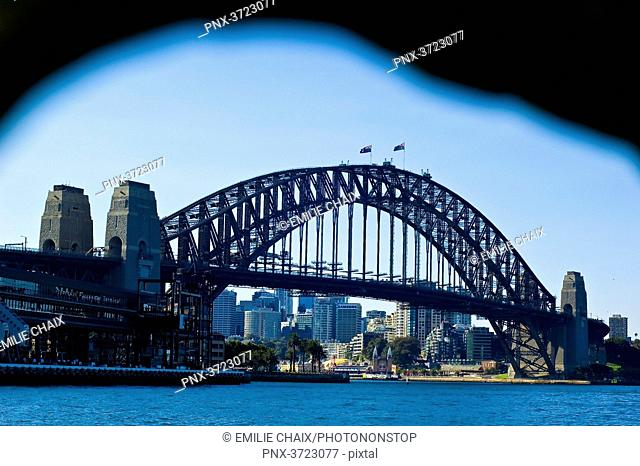 Oceania, Australia, Sydney, the Harbour Bridge