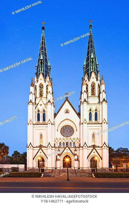Cathedral of St  John the Baptist, Savannah, Georgia