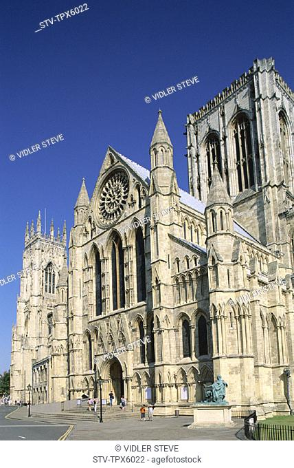 Cathedral, England, United Kingdom, Great Britain, Holiday, Landmark, Minster, North yorkshire, Tourism, Travel, Vacation, York