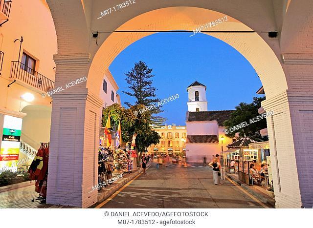 Nerja town, Costa del Sol, Andalucia, Spain