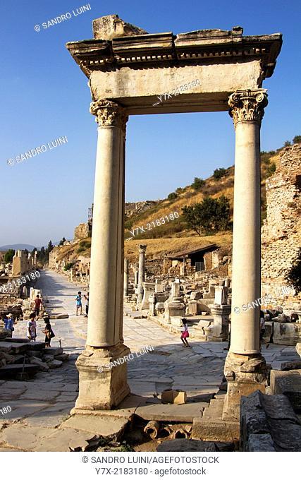 Roman's ruins at Ephesus, Unesco World Heritage