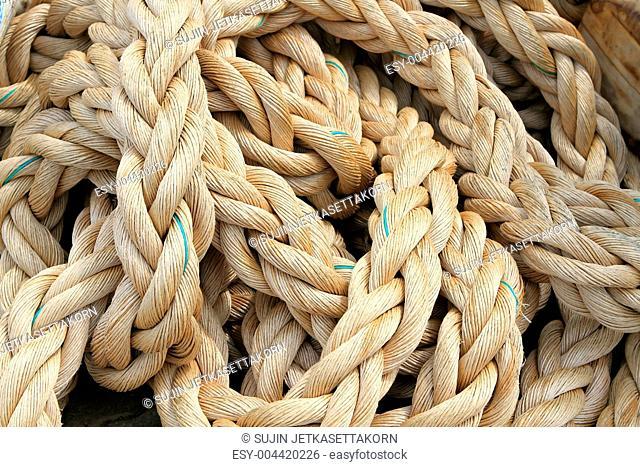 Marine rope background