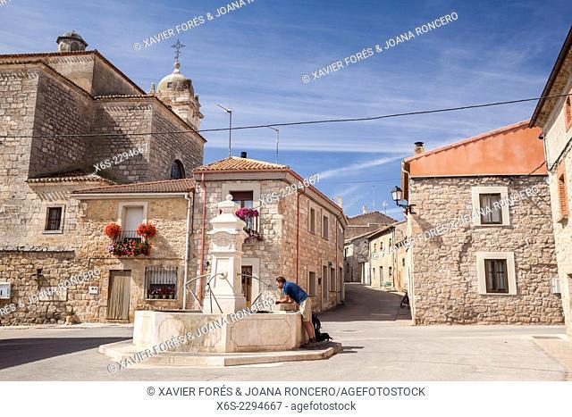 Rabé de las Calzadas, Way of St. James, Burgos, Spain