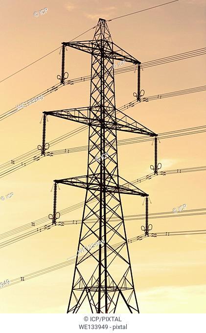 Electricity Pylon detail, England, UK