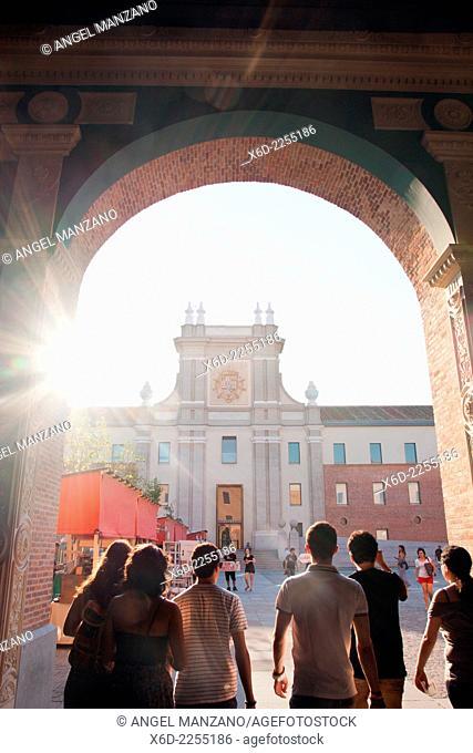Conde Duque cultural center, Madrid