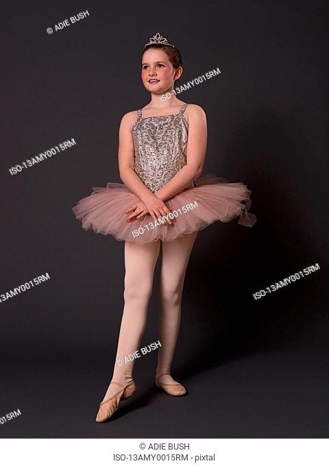 Ballerina in pink tutu