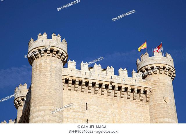 Fuensaldana castle was built as a family residence in the mid-15th century by Don Alfonso Perez de Vivero, the treasurer of King John II of Castile
