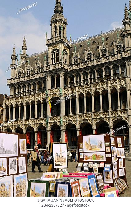 The Museum of the City of Brussels located in the Maison du Roi (King's House), or Broodhuis (Breadhouse), Grande Place or Grote Markt
