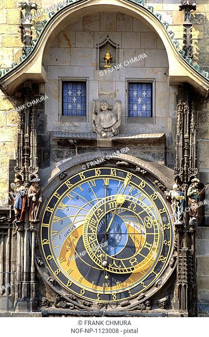 The Prague Astronomical Clock, Czech Republic