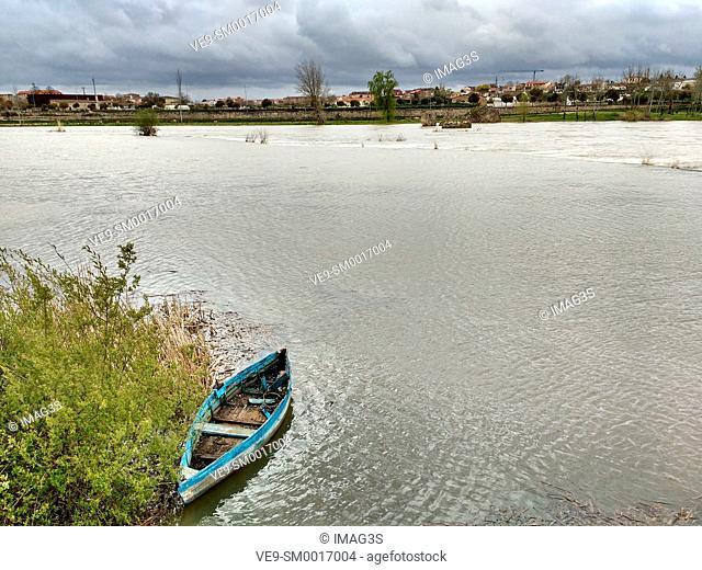 Duero river, Zamora, Castilla-Leon, Spain