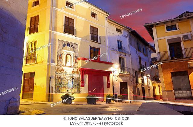 Botica Central in Noguera street of Xativa in Valencia Jativa at Spain