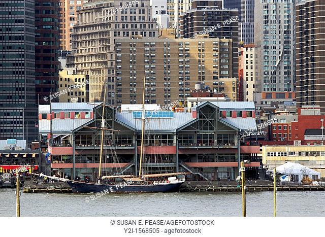 Pier 17, South Street Seaport, Manhattan, New York city
