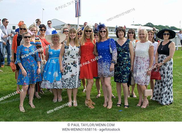 Investec Oaks Ladies Day at Epsom Downs Racecourse Featuring: Atmosphere Where: EPSOM, United Kingdom When: 02 Jun 2017 Credit: Paul Taylor/WENN.com