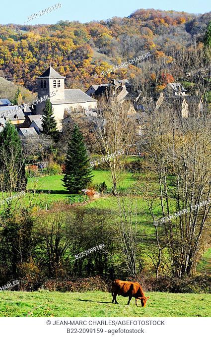 Muret-le-Château, North Aveyron, Midi-Pyrénées, France