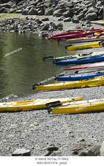 Kayak Rentals, Deep Cove North Vancouver BC Canada
