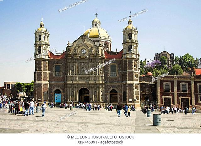 Old Basilica, Basilica de Nuestra Senora de Guadalupe, Our Lady of Guadalupe, Mexico City, Mexico