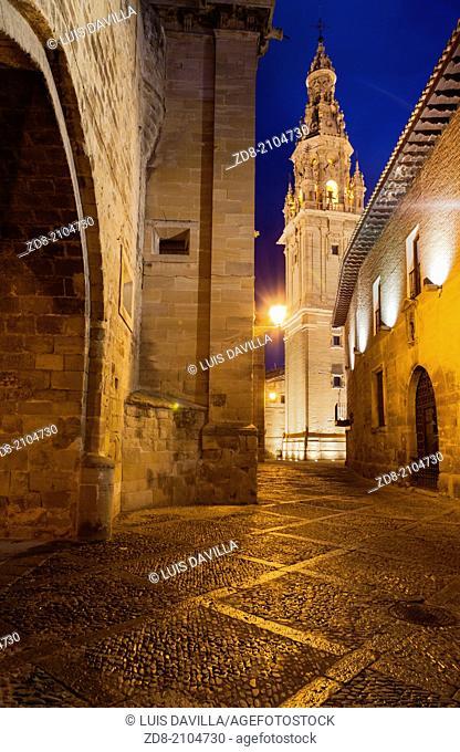 cathedral in santo domingo de la calzada. la rioja. spain