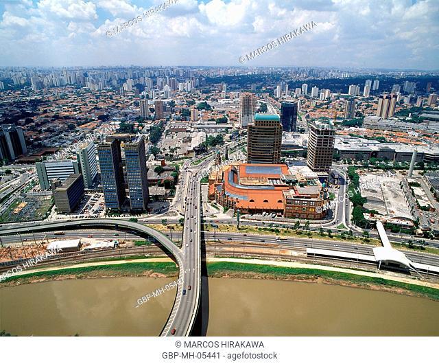 Shopping Market Place, Roque Petroni Junior Avenue, Morumbi, Sao Paulo, Brazil