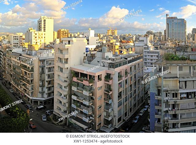cityscape, Downtown of Beirut, Beyrouth, Lebanon, Middle East, West Asia
