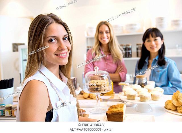 Bakery owner, portrait