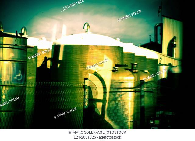 Factory. Barcelona, Catalonia, Spain