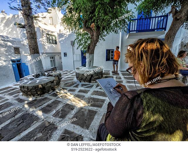 Mykonos. Greece