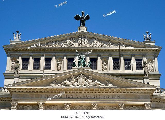 Germany, Hesse, Frankfurt on the Main, Opera Square, Alte Oper