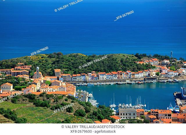 Port Vendres, Côte Vermeille, Pyrennees orientales, Languedoc Roussillon, France