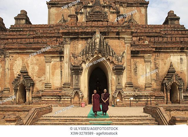 Sulamani temple, Old Bagan village, Mandalay region, Myanmar, Asia