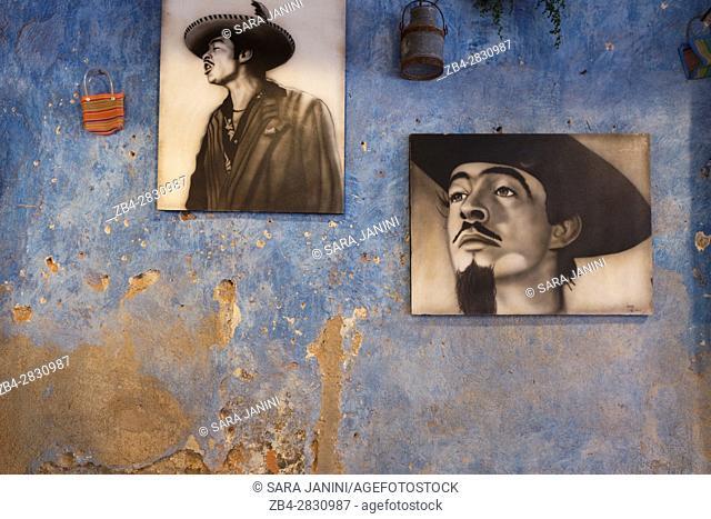 Cafe interior, Puebla de Zaragoza, Estado de Puebla, México, América