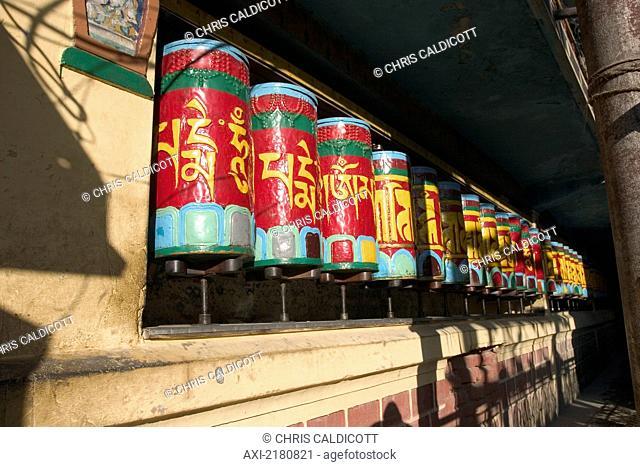 Tibetan Buddhist Temple Dharamsala India