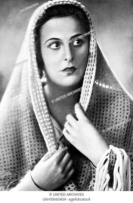 DIE WEISSE HÖLLE VOM PIZ PALÜ / Die weisse Hoelle vom Piz Palue D 1929 / Arnold Fanck/Georg Wilhelm Pabst LENI RIEFENSTAHL als Maria Majoni Regie: Arnold...