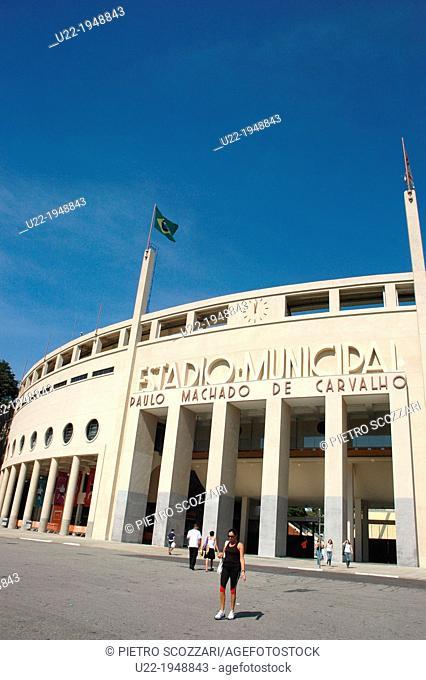 São Paulo, Brazil, Pacaembu Stadium
