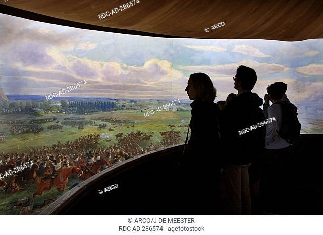 Museum, Napoleon battlefield, Waterloo, Belgium