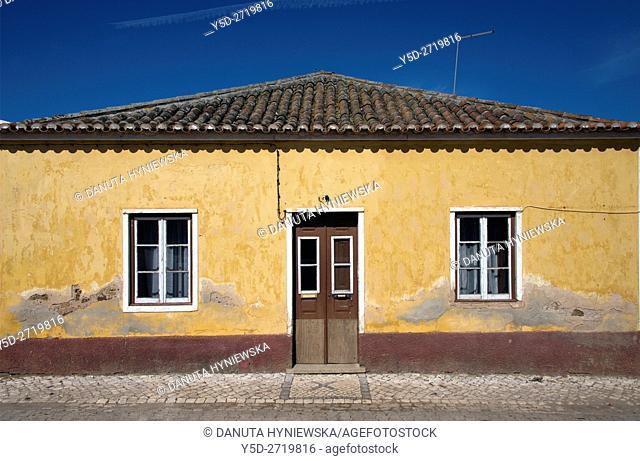 traditional house in Raposeira, Vila do Bispo, Algarve, Portugal, Europe