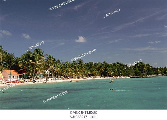 French Caribbean - Caribbean Islands - Guadeloupe - Grande Terre - St Francois - Beach of Meridien