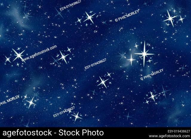 bright christmas stars