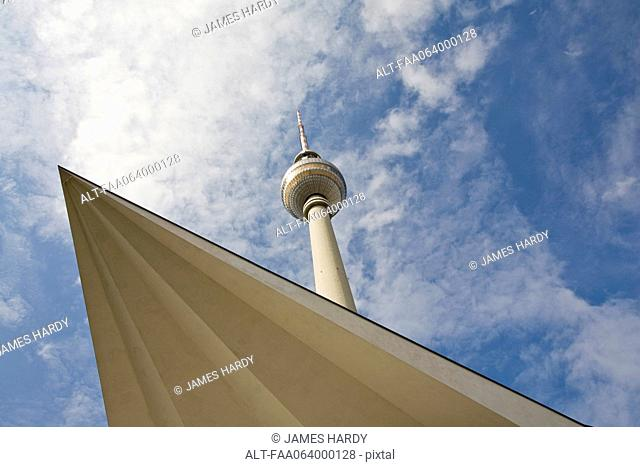 Germany, Berlin, the Fernsehturm television tower