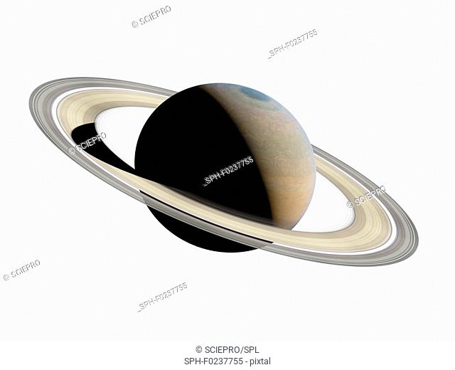 Illustration of Saturn