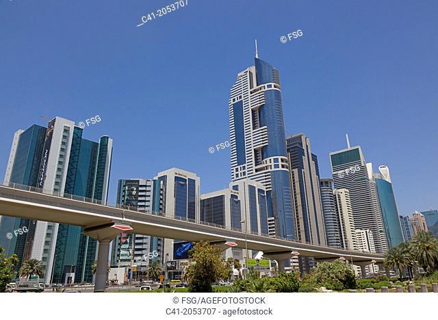 Downtown. Dubai. UAE