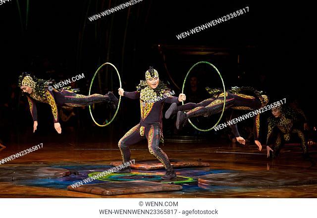 Cirque Du Soleil's 'Amaluna' dress rehearsal at the Royal Albert Hall Featuring: Atmosphere Where: London, United Kingdom When: 15 Jan 2016 Credit: WENN