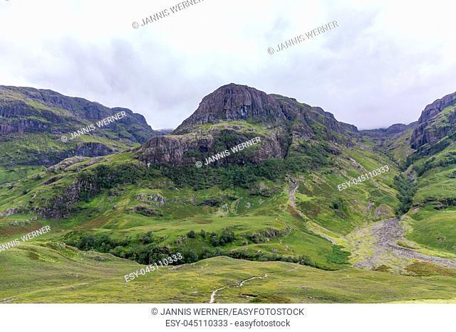 Impressions from the Scottish Highlands landscape